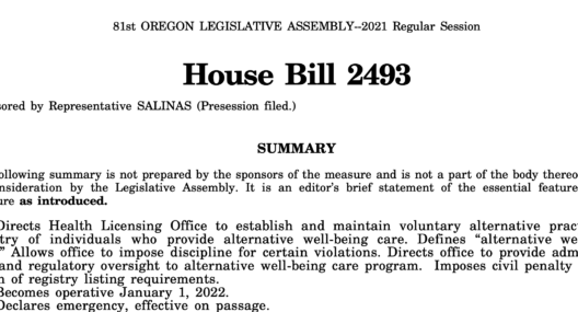 House Bill 2493